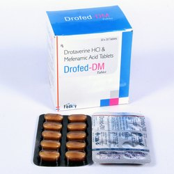 Drotaverine 80mg Mefenamic Acid 250mg Tablet