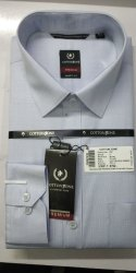 Cotton Zone Poly Cotton Men Plain Casual Wear Shirt, Size: S-XXXL