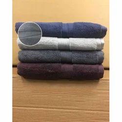 Cotton Plain Hotel Towels, Size: 30x56 Cm