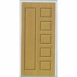 6-7 Feet Wood Rectangular Design Membrane Door