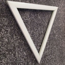 Apple Lite Down Triangle Shaped LED Wall Light
