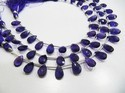 AAA Quality Natural African Amethyst Pear Shape Beads