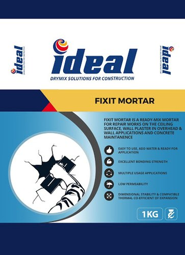 Ideal Fixit Mortar, Packaging Size: 1, 5 & 20 kg