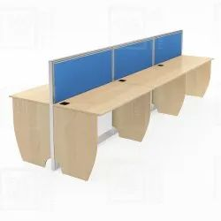 Linear With Both Side Sharing Workstations