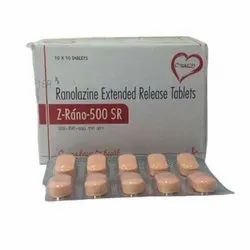 Ranolazine Extended Release Tablets