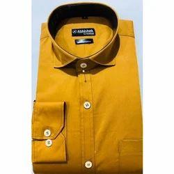 Abhishek Creation Plain Mens Shirt