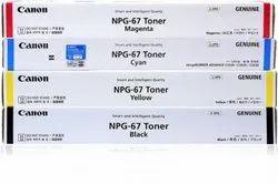 NPG 67 C/M/Y/B Canon Toner Cartridge