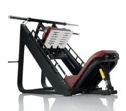 Commercial Leg Press Hack Squat Dual Exercise Machine