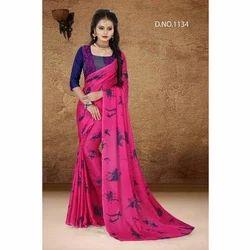 Ladies Silk Saree, 5.5 M (separate Blouse Piece)