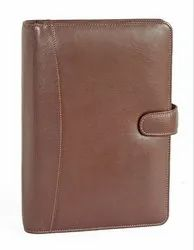 Elan Classic 2020 Business Planner Leather Outer Cover Brown (Big Size)