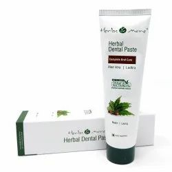 Ayurvedic White Herbal Dental Paste, Packaging Type: Box, Packaging Size: 125g