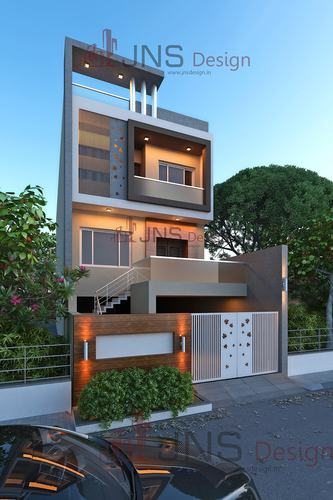 Residence House Design In Gujarat Jns Design Id 9323262330