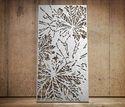 Chestnut Botanical Laser Cut Metal Screens and Sheet Boards