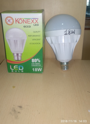 Cool Daylight 18 Watt C Series LED Bulb, Base Type: B22