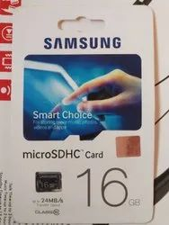 Samsung 16 Gb Memory Card 10th Class With 5 Years Replacement Warranty For Mobile Phone