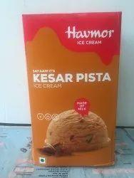 Kesar Pista Ice Cream 5 Lts Bulk Packs