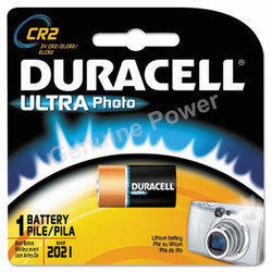 Duracell 3 V Lithium Battery CR2, Capacity: 800 mAh