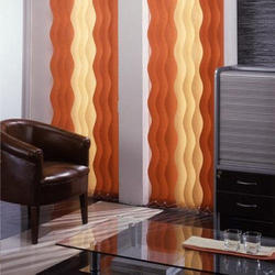 Wavy Vertical Blinds