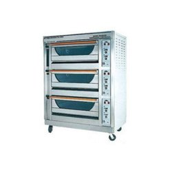 Electric Deck Oven, Capacity: 30kg/H, 3