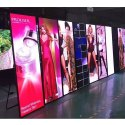 Rectangle Full-Color Real Pixels Outdoor Waterproof SMD P4 Street Pole Advertising LED Screen