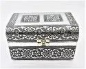 Silver White Metal Box