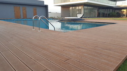 WPC Swimming Pool Deck Flooring