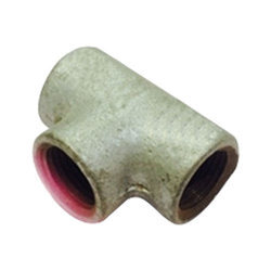 TRISHUL GOLD GI Pipe Tee, Size: 3/4 inch, for Structure Pipe