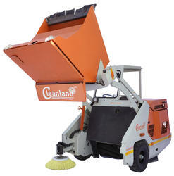 Automated Hydraulic Operated Cleaning Machine