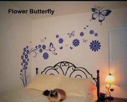 Big Stencils Flower Butterfly