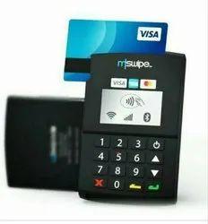 Wifi Mswipe Card Swipe Machine, 1