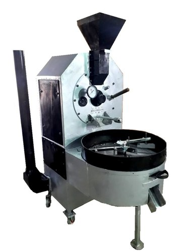 Automatic ALM COFFEE ROASTING MACHINE, Capacity: 1kg Machine To 50kg, 1hp To 25hp