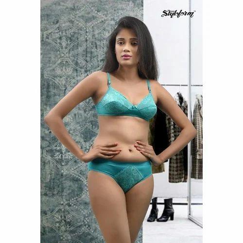 af80e8f5e702 New Styloform Ladies Printed Bra And Panty Set, Rs 150 /set | ID ...