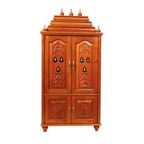 Wooden Pooja Cupboard