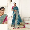 Elegant Banarasi Silk Wedding Saree