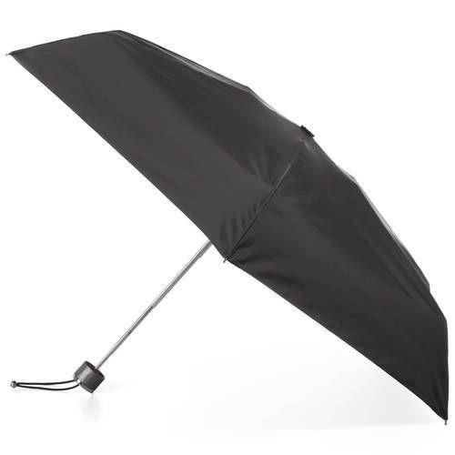 Black Plain 2 Fold Umbrella, Size: Varies