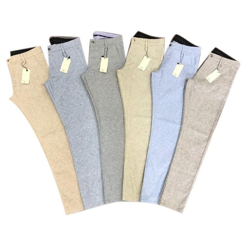 Polo Cotton Mens Stylish Trouser