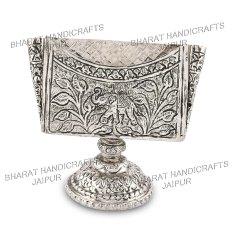 Metal antique visiting card holder