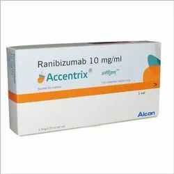 Accentrix Injection Ranibizumab 10 Mg