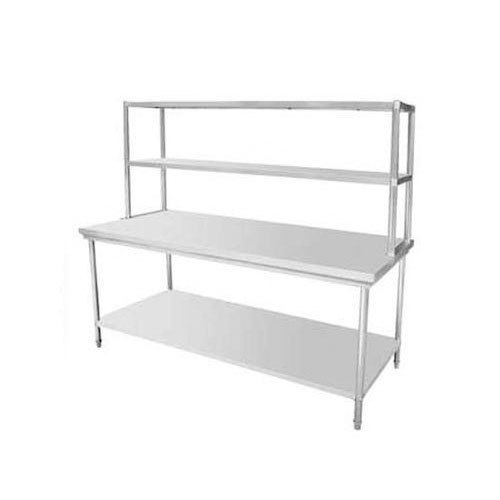 Silver And Stainless Steel Kitchen Work Table  sc 1 st  IndiaMART & Silver And Stainless Steel Kitchen Work Table Rs 10000 /number | ID ...