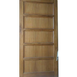 Solid Wood Exterior Solid Wooden Hinged Door