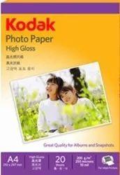 Kodak kotak photo paper, For Photography, GSM: 80 - 120