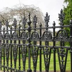 Cast Iron Fence, For Home