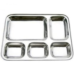 Tray Mess Compartment Ss Army Pattern - 13472