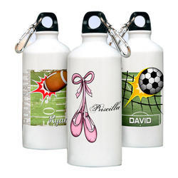 Metal Sublimation Sipper Bottle