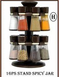 8pc Stand Spice Jar