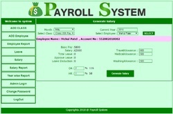 Online/Cloud-based Payroll System, Rs 25000 /pack Hiral Tektronix ...