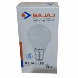 Cool Daylight Bajaj LED Bulb, Base Type: B22