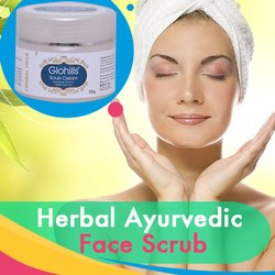Herbal Ayurvedic Face Scrub - for Smooth & Glowing Skin