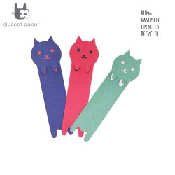 Cat Themed Bookmarks (Set Of 3)