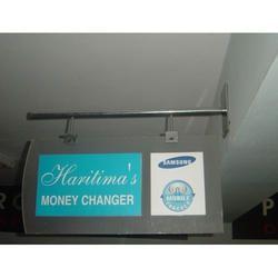 Advertising Display Flange